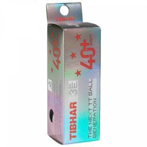 Tibhar Bälle 3 Sterne 40+ SYNTT 3 er Pack