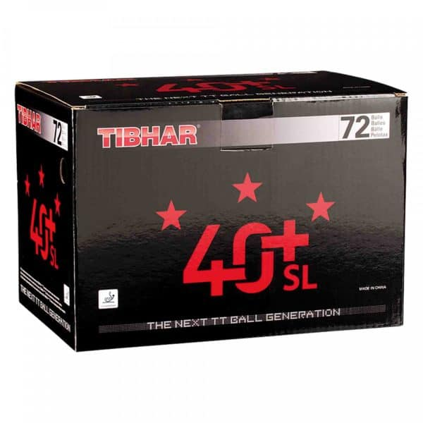 Tibhar 3 Sterne Bälle 40+ SL 72er Karton