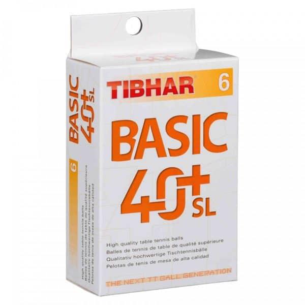 Tibhar Trainingsbälle 40+ SL 6er Verpackung