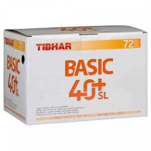 Tibhar Trainingsbälle 40+ SL 72er Karton