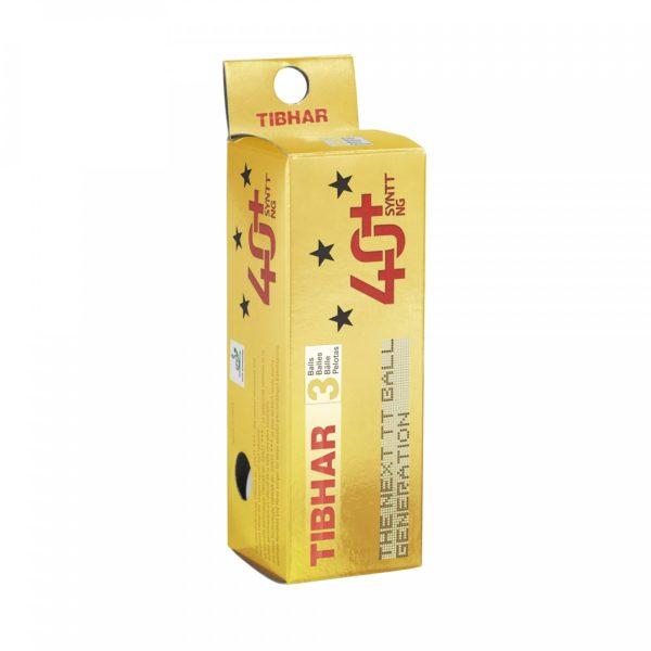 Tibhar 3 Sterne Bälle 40+ SYNTT NG (mit Naht) 3 er Pack