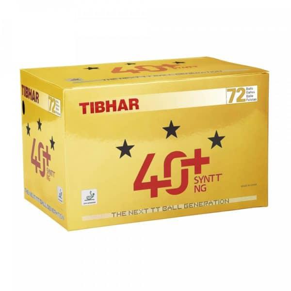 Tibhar 3 Sterne Bälle 40+ SYNTT NG (mit Naht)