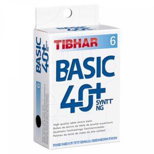 Tibhar Basic 40+ SYNTT NG 6 er Pack