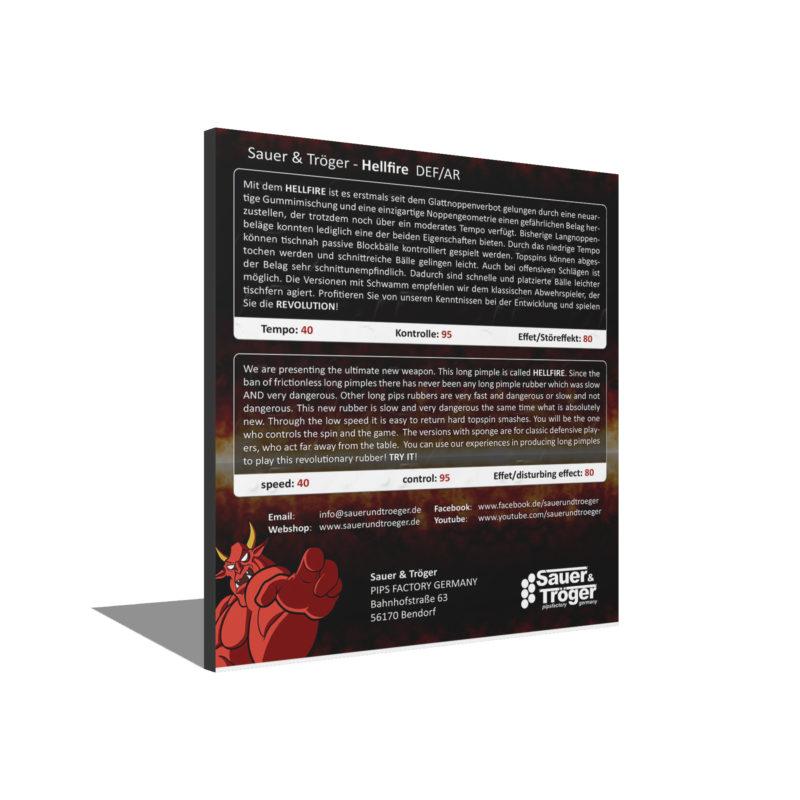 Sauer&Tröger Hellfire 3D Rückseite