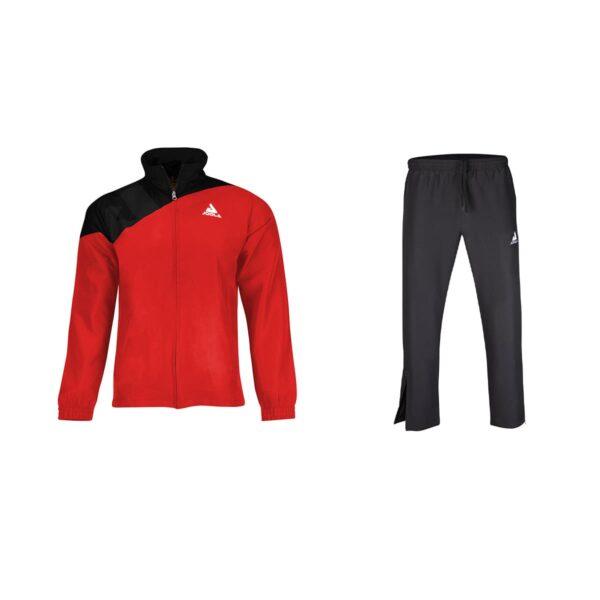 Joola Trainingsanzug Ace Schwarz-Rot